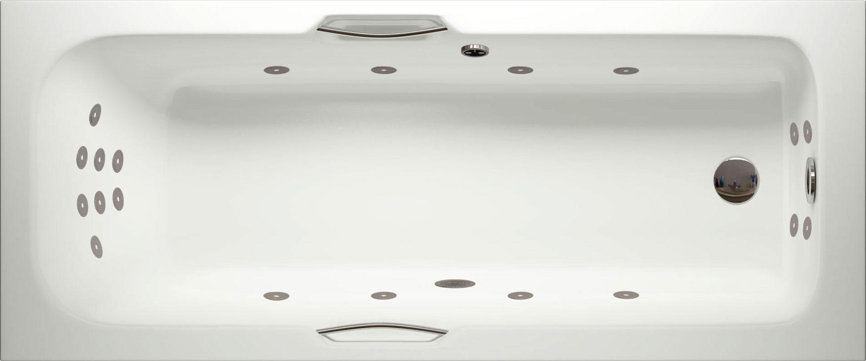 Avon Super Lux Single Ended Whirlpool Bath   Luna Spas