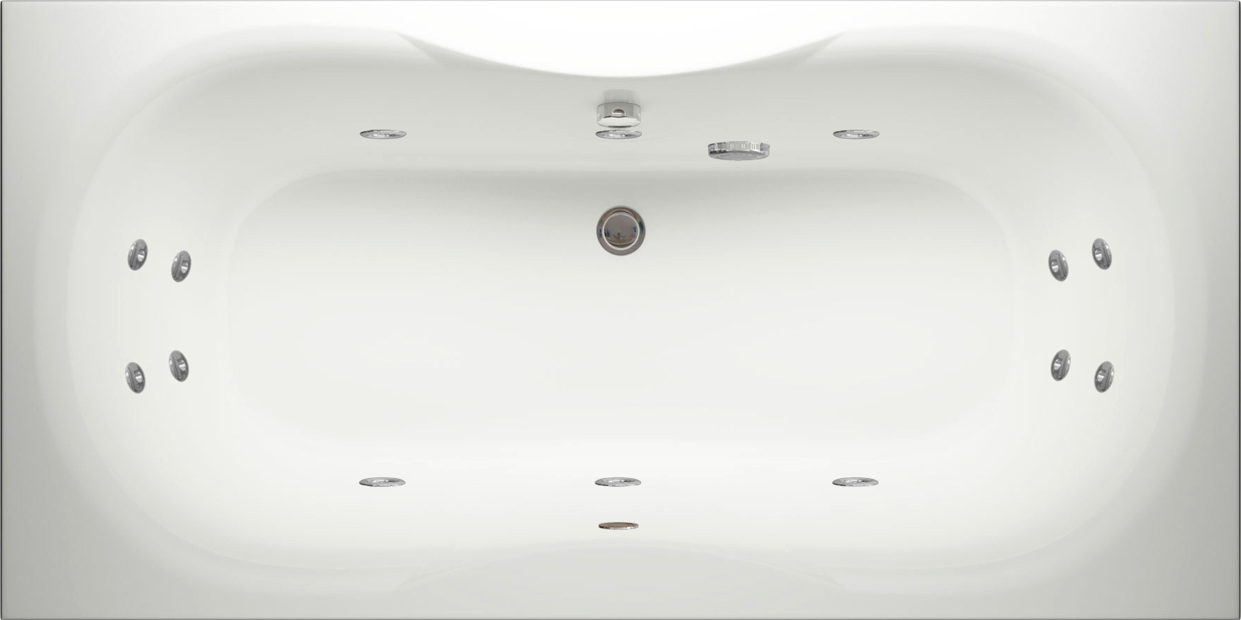 Quantum Whirlpool Bath Tubs UK Online | Luna Spas
