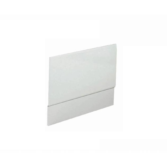 1100mm White Wood High Gloss Panel, suitable for all baths