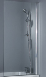Bathroom Fittings & Products 150cm & 85cm Shower Screen
