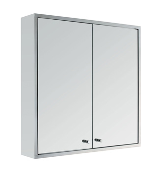 Cabinet with mirror