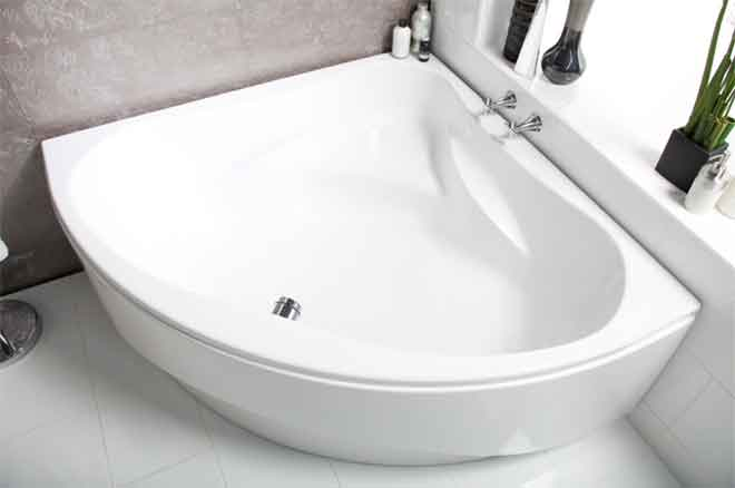 Luna Sevilla Corner Whirlpool Bath