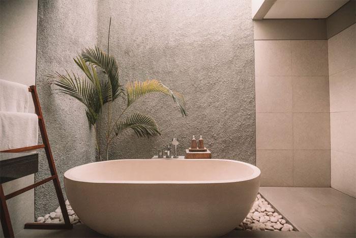 Beautiful freestanding bath