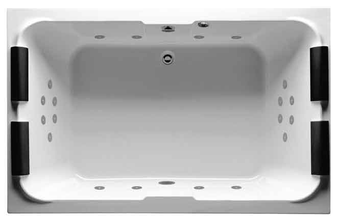 Riho Grande, Super Lux Double Ended Whirlpool Bath