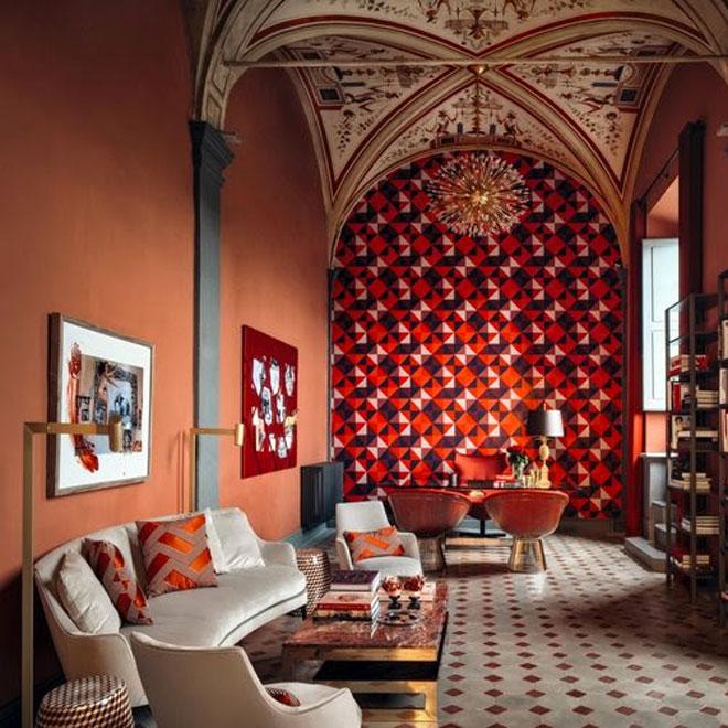 Pantone Coloured Room