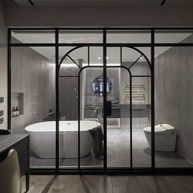 Bathroom at Sculpture of Materials, Taiwan