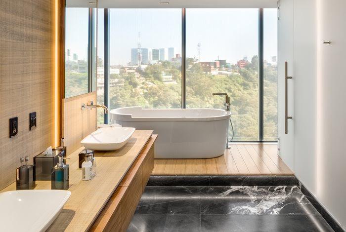 Bathroom at GVLE - Mexico City, Mexico