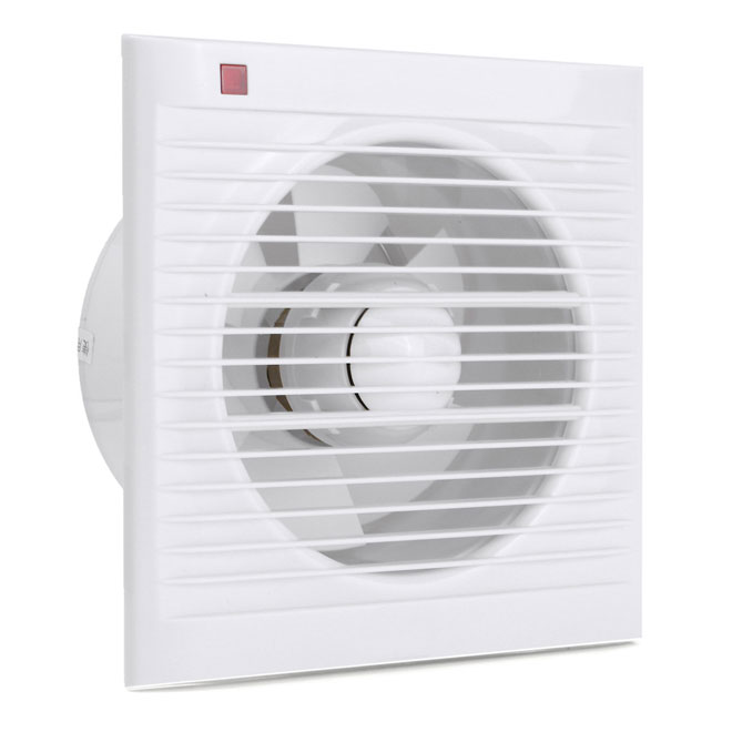 A bathroom extractor fan