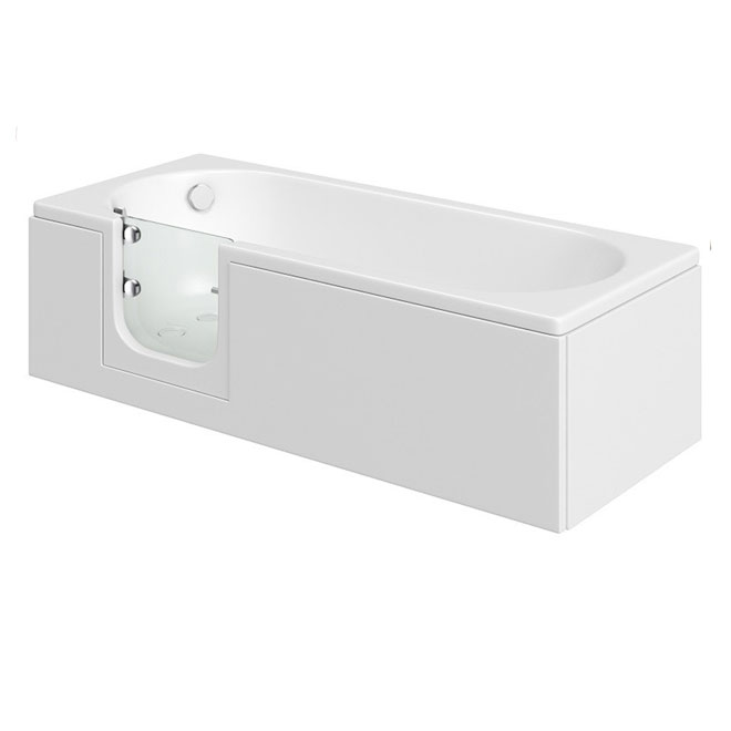 Cascade easy access bath