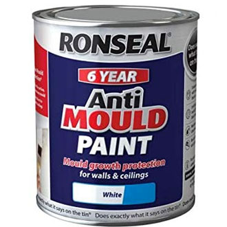 Anti-mould paint for bathrooms.